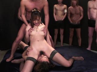 Japanese Anri Hoshizaki is into facesitting  uncensored
