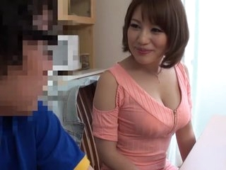 Horny Japanese chick Riko Honda in Exotic college, maid JAV clip