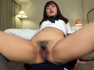 Japanese wife creampie panties stockings