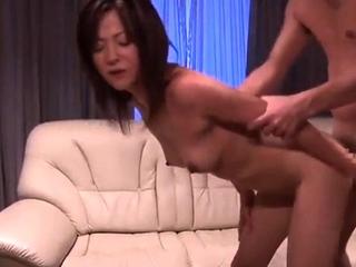 Sweet panties and hardcore anal asian